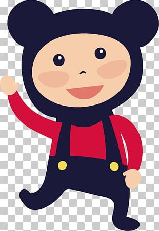 Bear Dress Up Child PNG