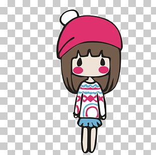Girl Illustration PNG