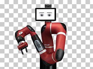 Rethink Robotics Baxter Cobot Machine Tending PNG