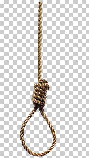 Hangman's Knot Noose Rope PNG