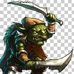 Green Goblin Gems Of War Game PNG