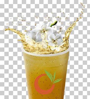 Green Tea Bubble Tea Iced Tea Juice PNG