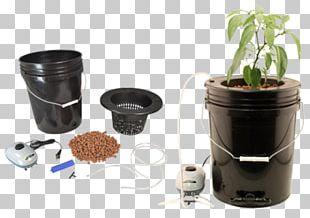 Hydroponics Deep Water Culture Ebb And Flow Flo-n-Gro Momma Bubbler Bucket Garden PNG