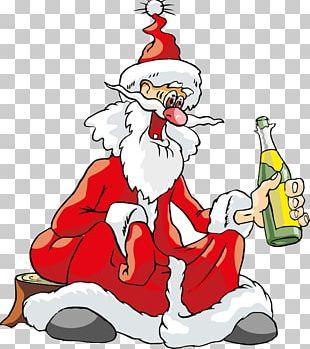 Santa Claus Christmas Tree Ded Moroz PNG