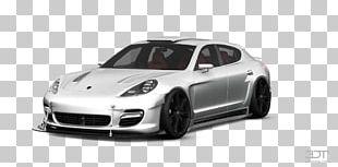 Porsche Panamera Compact Car Motor Vehicle Tires Rim PNG
