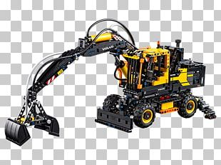 Lego Technic Amazon.com Toy LEGO 42053 Technic Volvo EW160E PNG