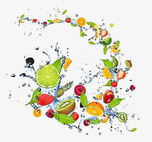 Water On The Fruit PNG