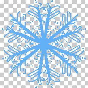 Snowflake Winter Snowman PNG