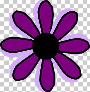 Purple Pink Flowers PNG