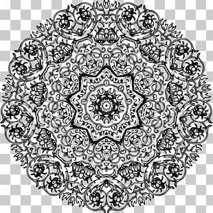 Sacred Geometry Art Drawing PNG
