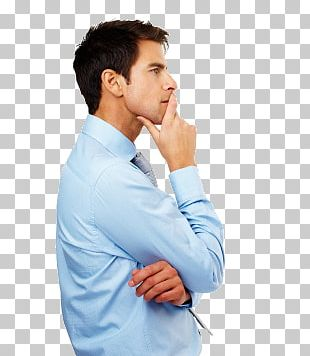 Thinking Man PNG