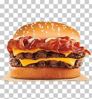 Whopper Bacon Hamburger Cheeseburger Fast Food PNG
