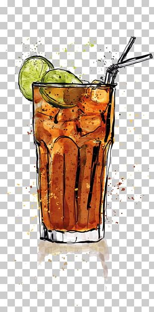 Long Island Iced Tea Cocktail Non-alcoholic Drink Rum And Coke PNG