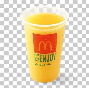 Orange Drink Orange Juice Pint Glass Cup PNG