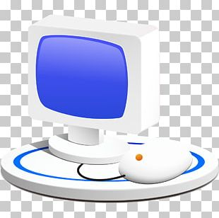 Computer Monitor Computer Mouse Personal Computer Icon PNG