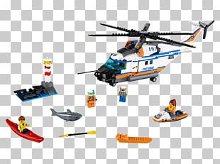 LEGO 60166 City Heavy-duty Rescue Helicopter Lego City Toy PNG