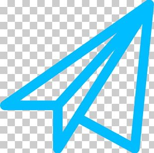 Paper Plane Airplane Computer Icons PNG