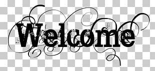 Text Logo Monochrome PNG