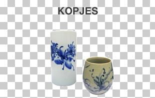 Coffee Cup Ceramic Blue And White Pottery Porcelain Mug PNG