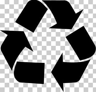 Recycling Symbol Glass Recycling Waste Reuse PNG