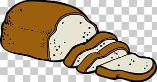 Hamburger White Bread Focaccia Loaf PNG