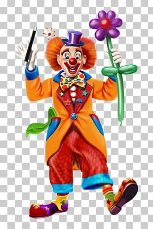 Clown Balloon Modelling Pierrot PNG