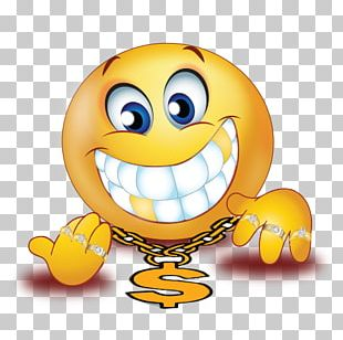 Smiley Gold Teeth Emoji Computer Icons PNG