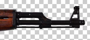 AK-47 Gun Barrel Weapon Firearm Assault Rifle PNG