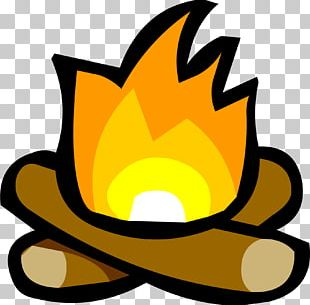 Club Penguin S'more Campfire PNG