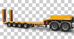 Semi-trailer Truck Commercial Vehicle Cargo PNG