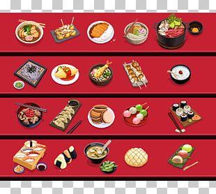 Asian Cuisine Japanese Cuisine Dish Pixel Art Food PNG