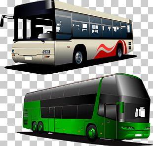 Tour Bus Service Coach PNG