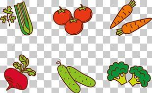 Fruit Vegetable Cartoon PNG