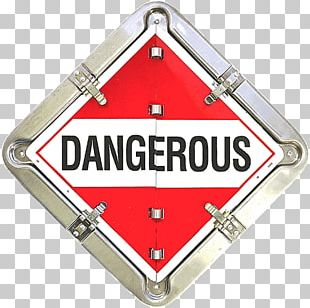 Dangerous Goods Placard HAZMAT Class 9 Miscellaneous UN Number Risk PNG
