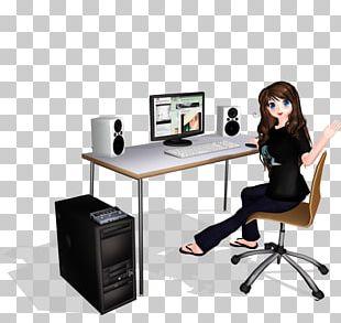 Desk Personal Computer MikuMikuDance Computer Software PNG