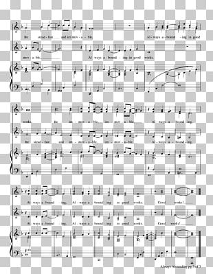 Sheet Music Line Drawing Point PNG