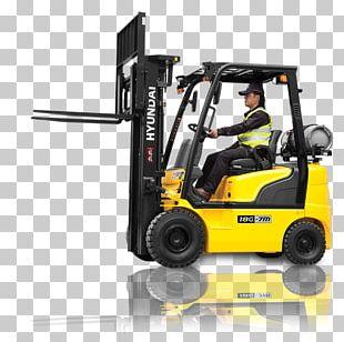 Hyundai Motor Company Forklift Heavy Machinery Engine PNG