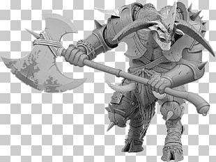 Axe Game Miniature Wargaming Demon Miniature Figure PNG