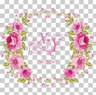 China Flower Wreath Garland Crown PNG