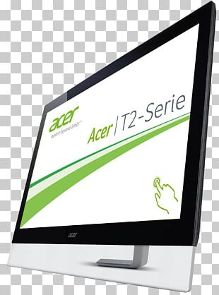 Computer Monitors Acer T232HL Touch Touchscreen Liquid-crystal Display PNG