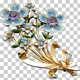 Cut Flowers Floral Design Brooch Body Jewellery PNG