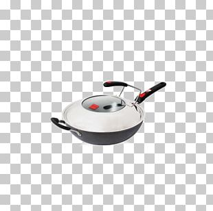 Frying Pan Wok Non-stick Surface Cookware And Bakeware PNG
