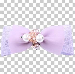 Hair Tie Pearl Barrette PNG