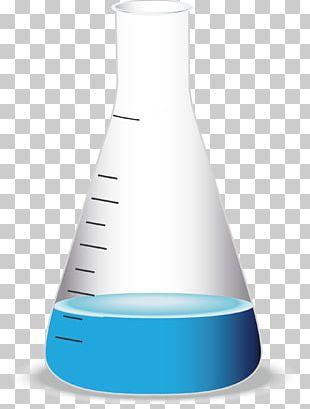 Laboratory Flask Erlenmeyer Flask Beaker Illustration PNG