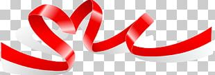 Valentines Day Ribbon PNG