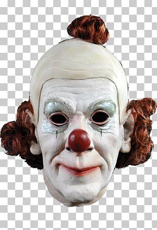 Evil Clown Circus Clown Mask Circus Clown Mask PNG