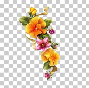 Floral Design Flower Painting PNG