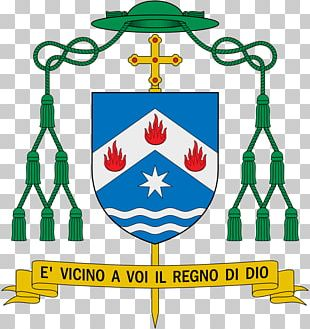 Bishop Coat Of Arms Church Apostolic Vicariate Ecclesiastical Heraldry PNG