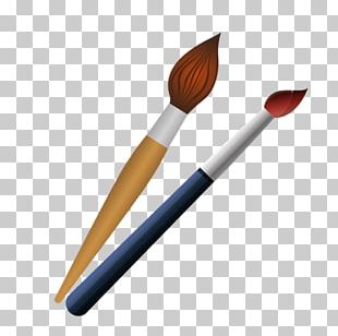 Paintbrush Paintbrush Palette Ballpoint Pen PNG