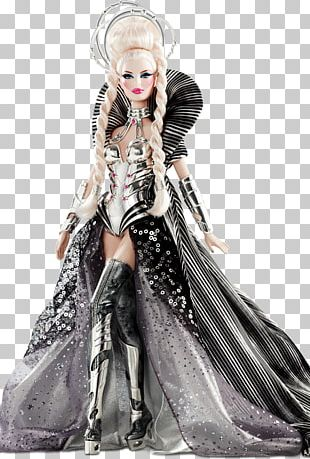 The Artist Barbie Doll Byron Lars Collectable PNG
